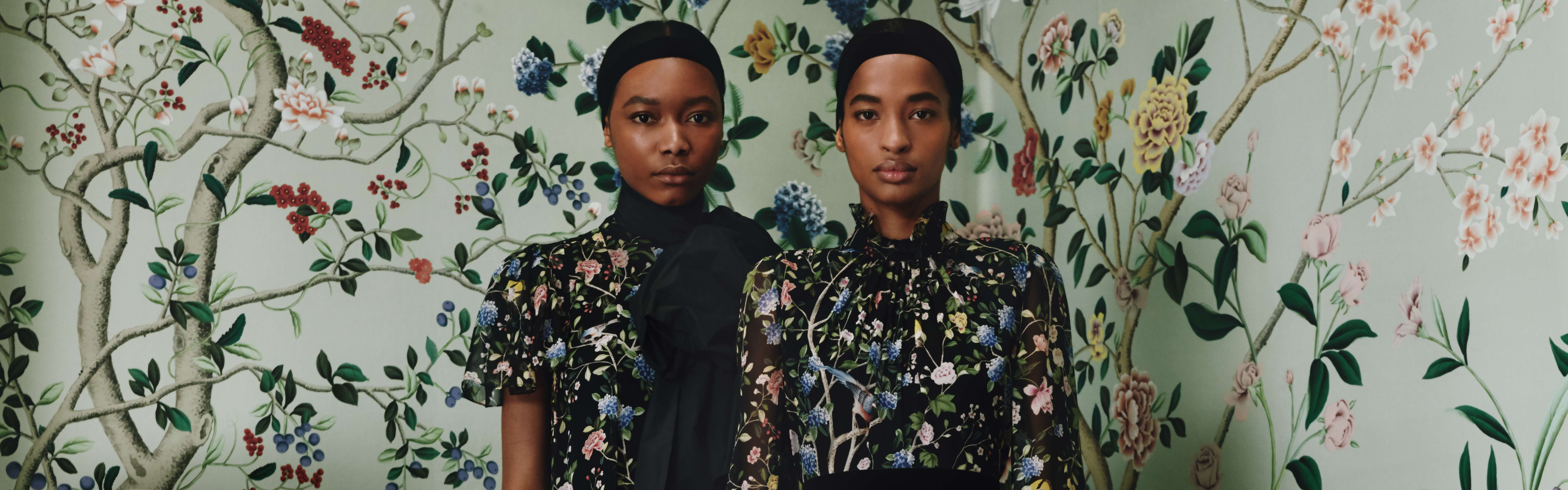 ERDEM and de Gournay capsule collection